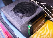 Subwoofer na Powerbass PB1054v.2 do seicento