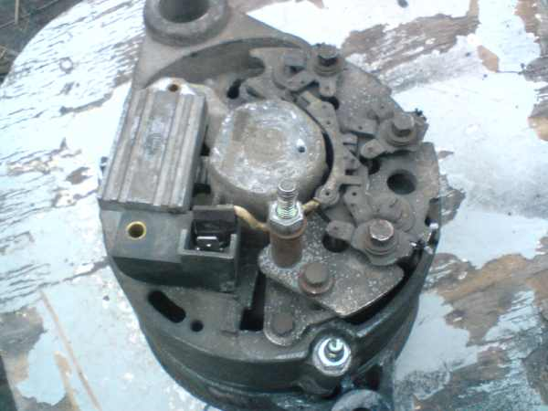 Alternator zamiast pr�dnicy w ci�gniku C 330