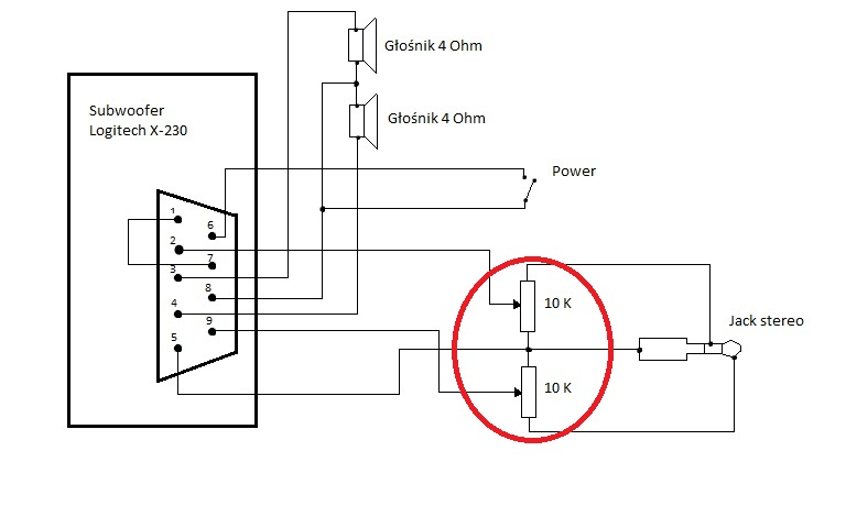 hk395 subwoofer wiring diagram