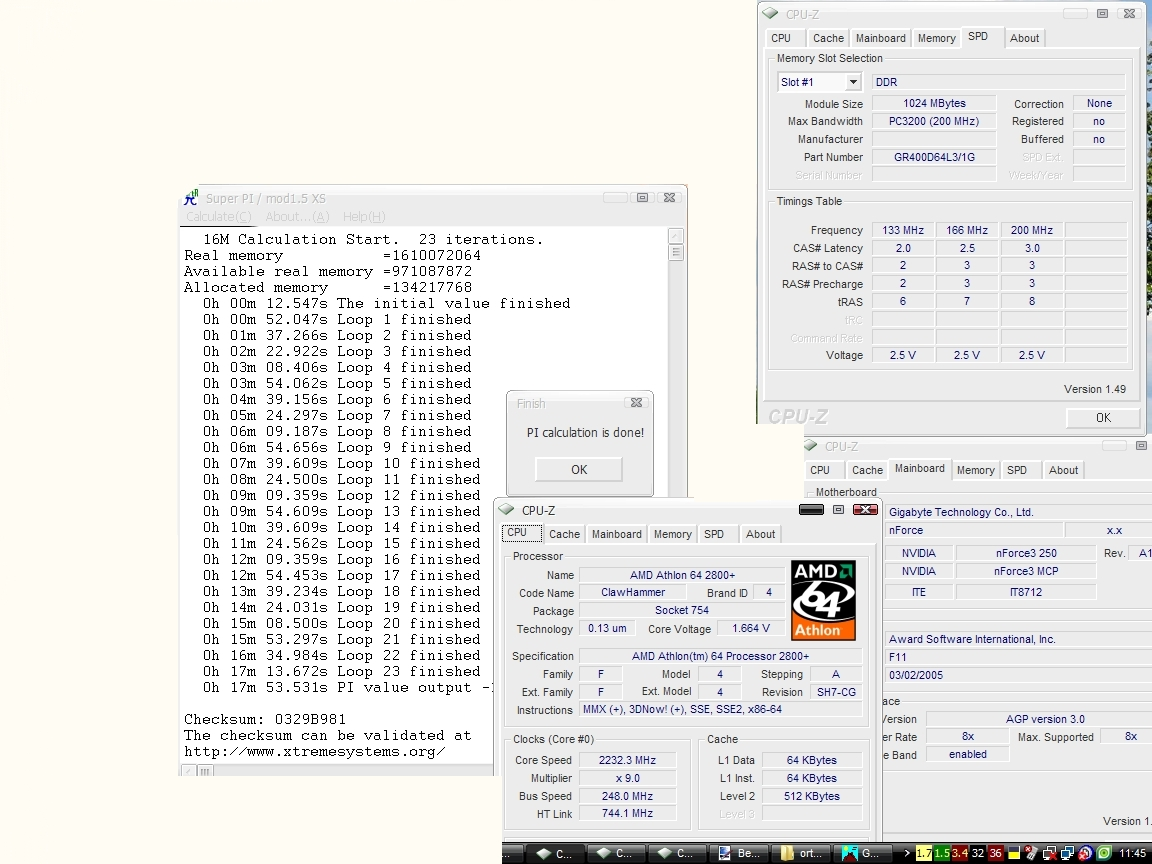 Athlon 64 2800+ 2232MHz co dalej ?