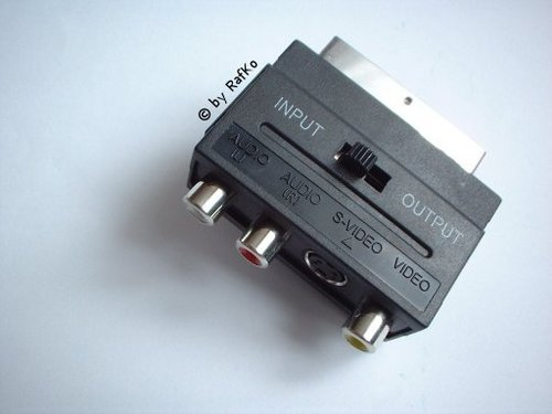 Schemat kabla scart/s-video/composite, in & out pomoc