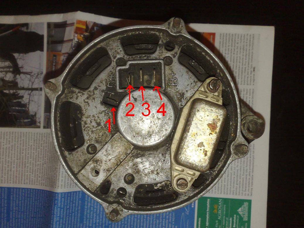 Jak za�o�y� alternator od audi do URSUSA C330