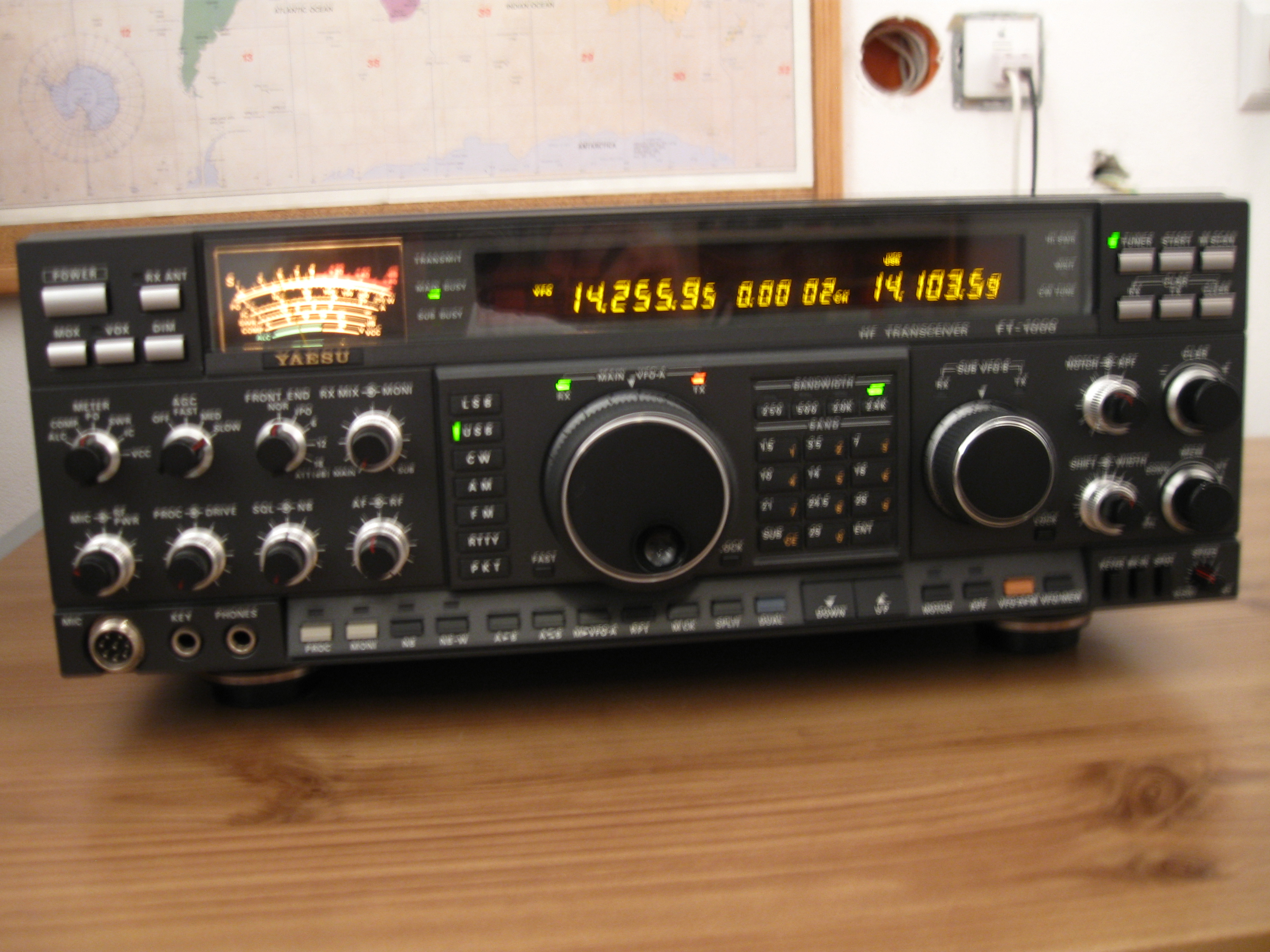 Yaesu FT-1000D has a serial number 9N030071 What is the date of manufacture