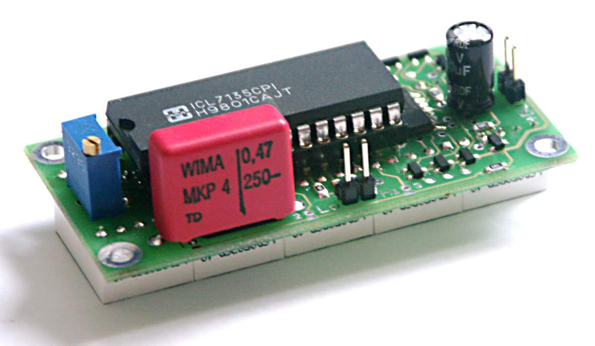 Panel Voltmeter 4 189 Digits On Icl7135