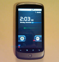 Nexus One czyli Google Phone z Androidem 2.1 i 3D UI