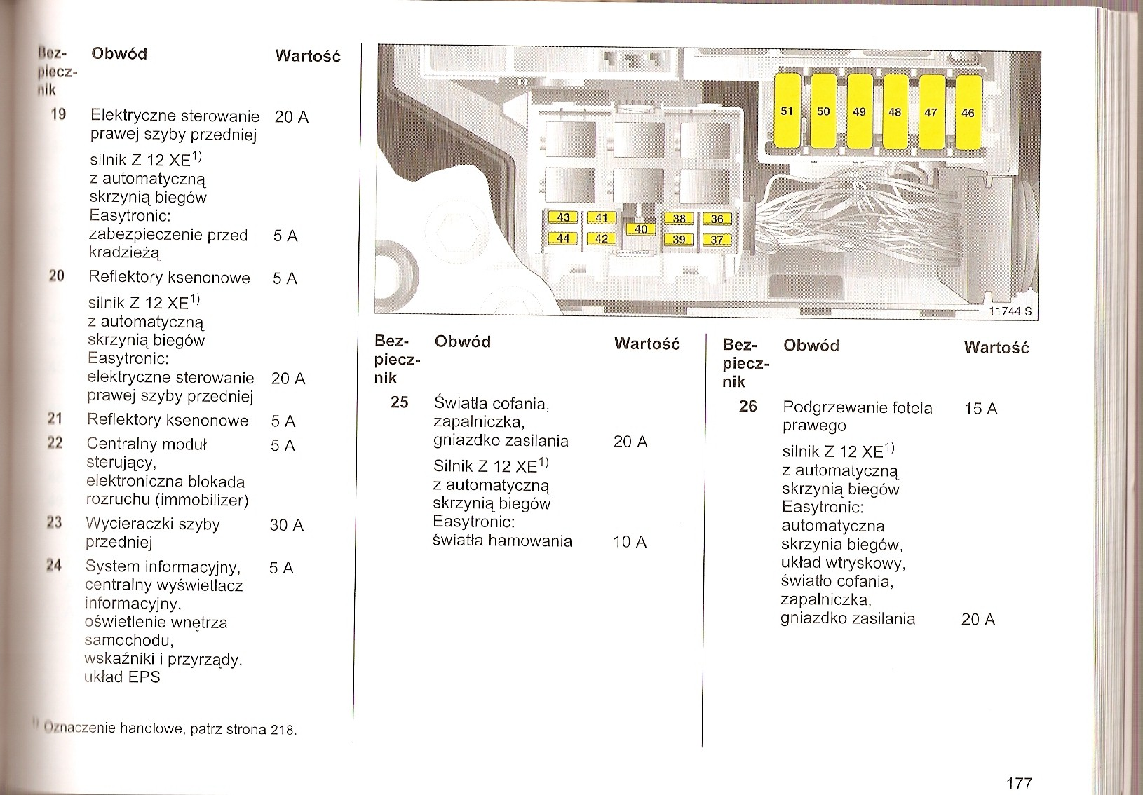 Opel Fuse Box Auto Electrical Wiring Diagram 2012 Chevrolet Volt Oem 22785253 11 12 14 Corsa B Combo