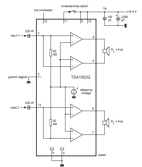 ...If you need more circuits,please download TDA8560Q's pdf datasheet.