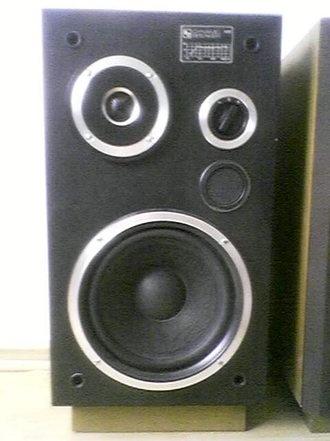 Unitra Tonsil Dynamic Speaker HX60, kto co� o nich wie....