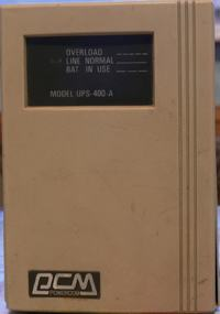 UPS Powercom model: UPS-400-A S/N 2104045 naprawa?