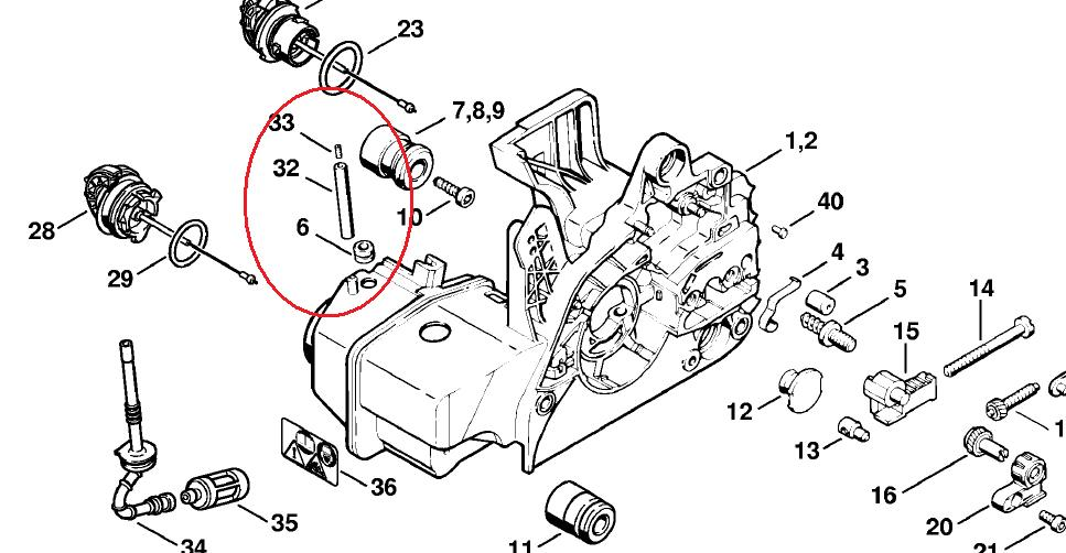 036 Stihl Chainsaw Parts Diagram €� My Site