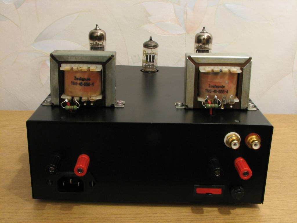 Home Made Stereo Tube Amplifier