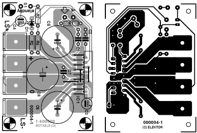 The amplifier is best built on the single sided printed-circuit board shown in Picture 2. As mentioned earlier, the...