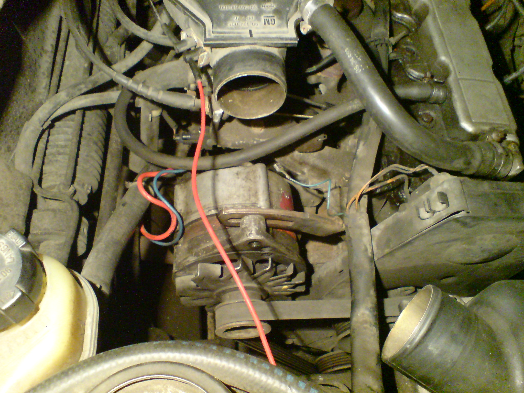 Vectra A '90 C16NZ Alternator nie laduje