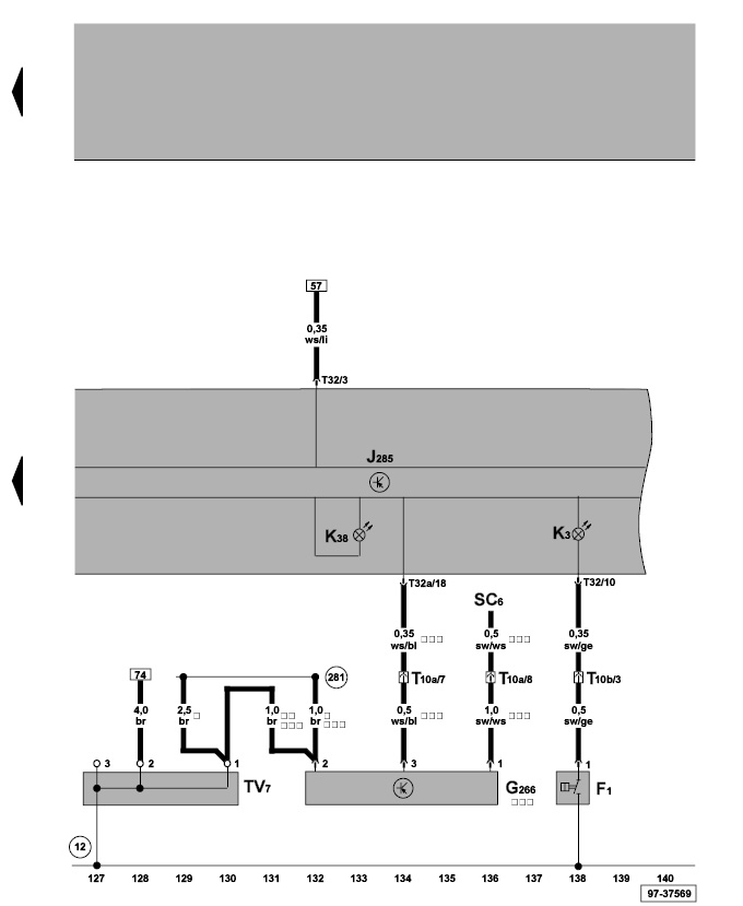 Vw transporter t fuse box electrical schematic