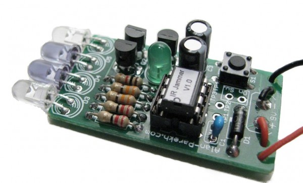 Cell phone jammer circuit diagram | cell phone radio jammer
