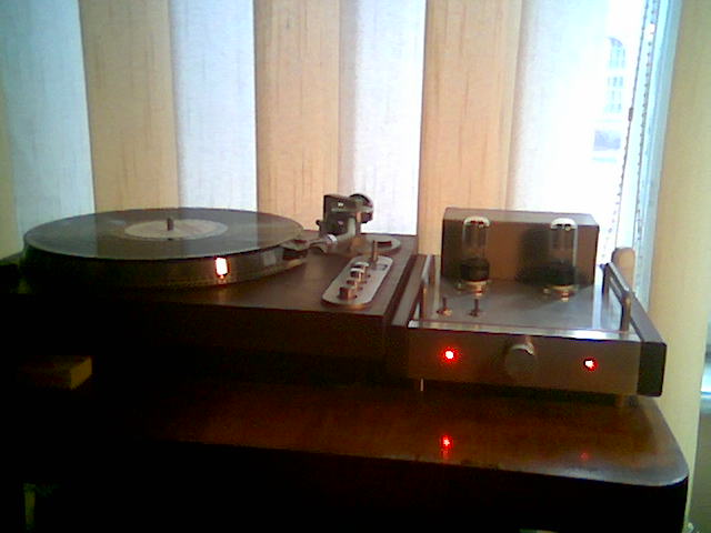 Preamp do CD/Gramofonu na 6H8C