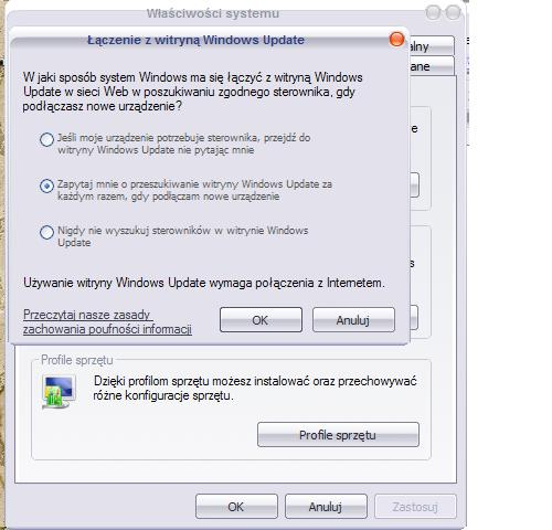 Nag�y problem z grami w Windows XP SP3