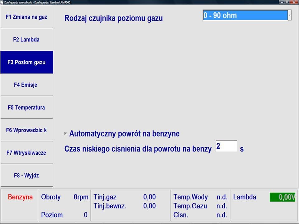 Omegas Landi Renzo Software 2.9...