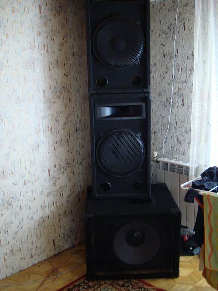Subwoofer na STX-46 1200rms