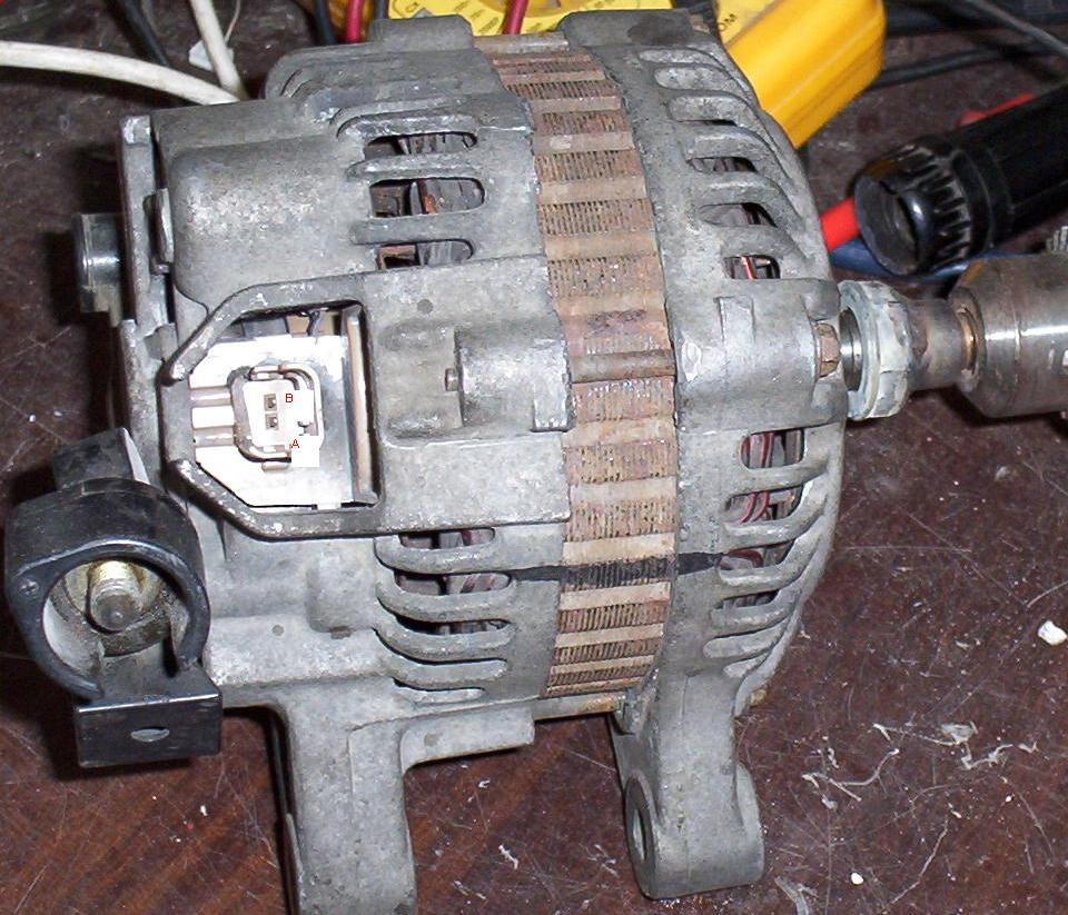 Alternator MITSUBISHI 12 CL7 MO 05 Peugeot 206