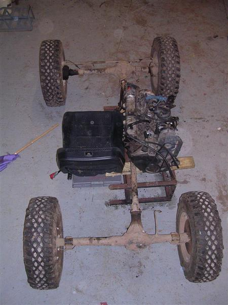 "buggy 4x4 ""projekt monster"" - ma kto� do�wiadczeni"