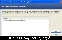 Microsoft Security Essentials ntkrnlpa.exe wirus ?