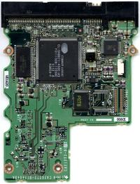 Fujitsu MPG3204AT -E element na PCB