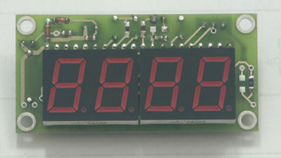 Panelowy woltomierz LED ICL7107