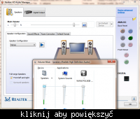 Brak dzwi�ku z karty ALC883 Realtek na Windows 7 x64