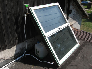 Home Made Solar Collector