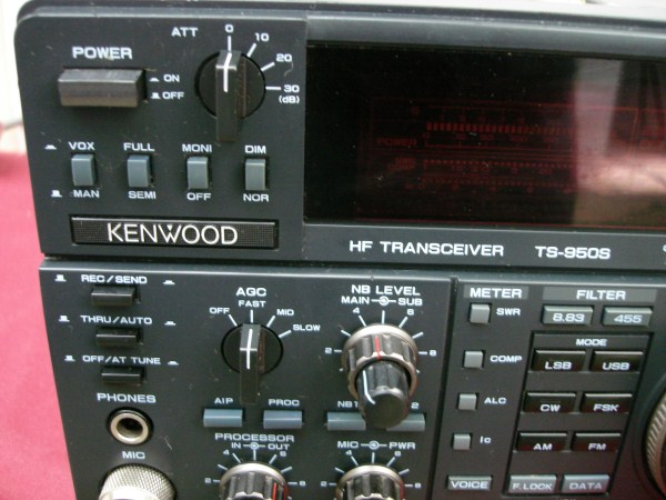 KENWOOD TS-950S I KENWOOD TS-950SD HOW TO RECOGNISE THAT